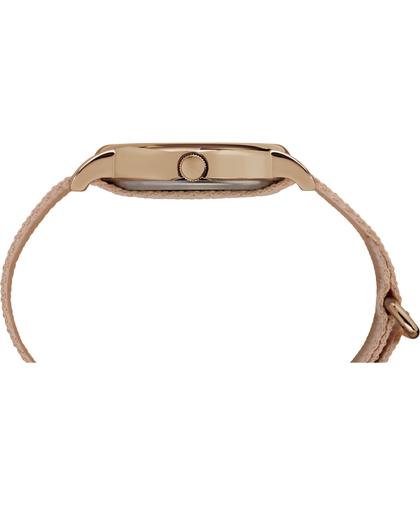 Weekender 38mm Fabric Strap Watch Rose-Gold-Tone/Pink/Cream large