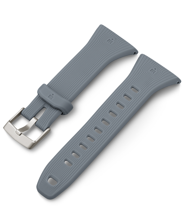 21mm Quick Release Silicone Strap Gray large
