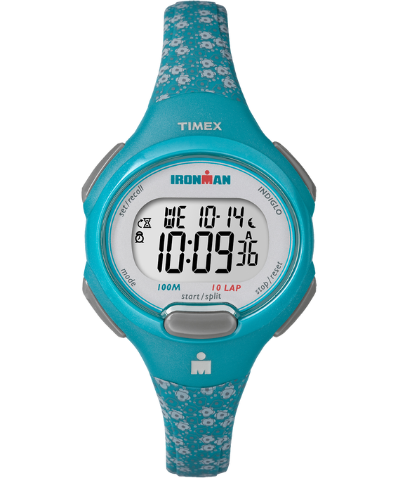 IRONMAN Essential 10 Mid-Size 35mm Watch Resin Strap Blue/Gray large