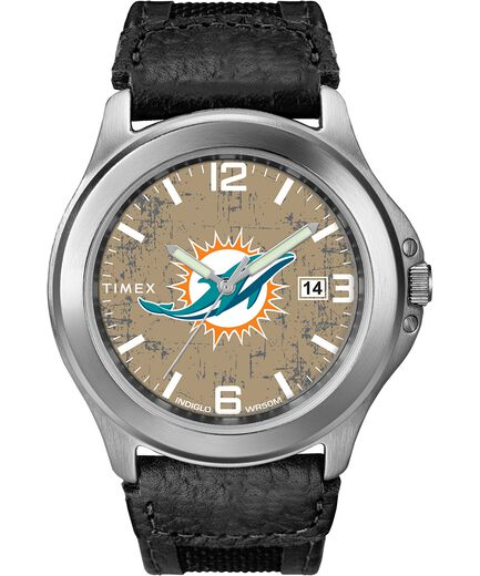 6f4df1746 Old School Miami Dolphins Watch | Timex Tribute NFL Collection