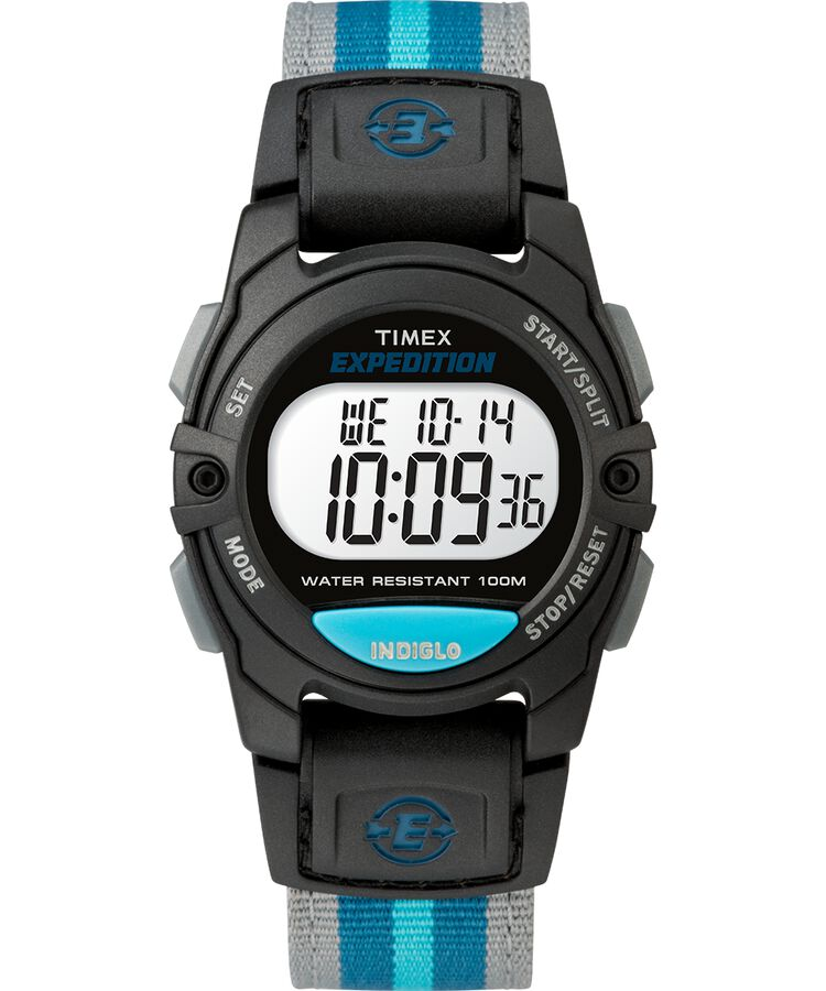 EXPEDITION DIGITAL 33MM FABRIC STRAP WATCH