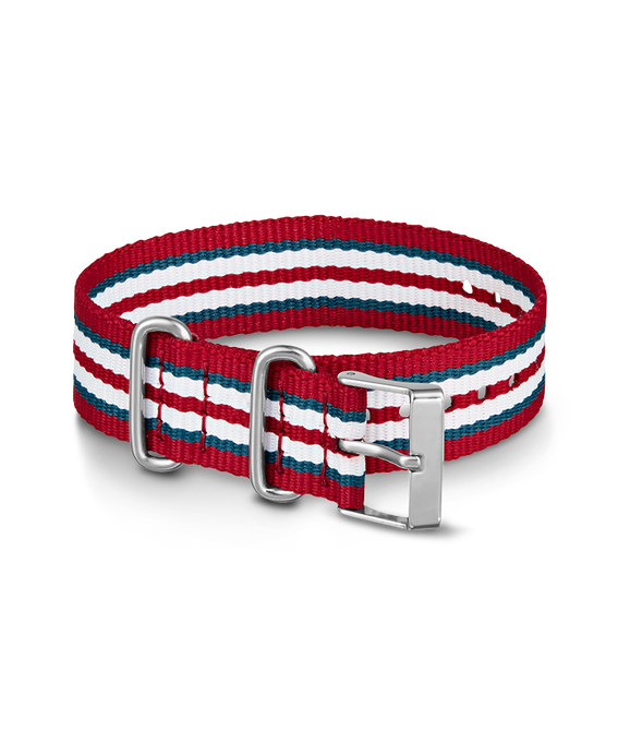 20mm Nylon Strap Red large