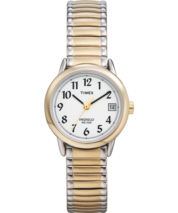 Easy Reader 25mm with Date Stainless Steel Watch Two-Tone/White large