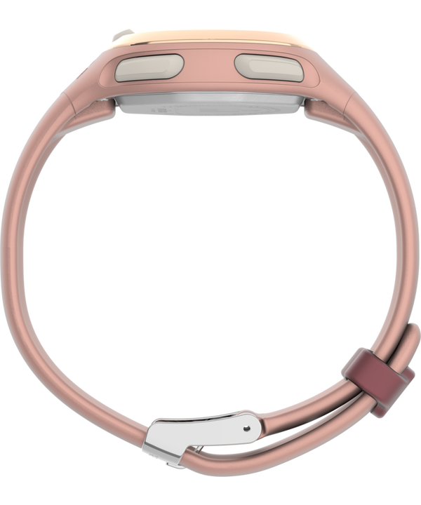 Transit 33mm Resin Strap Watch Pink/Rose-Gold-Tone large