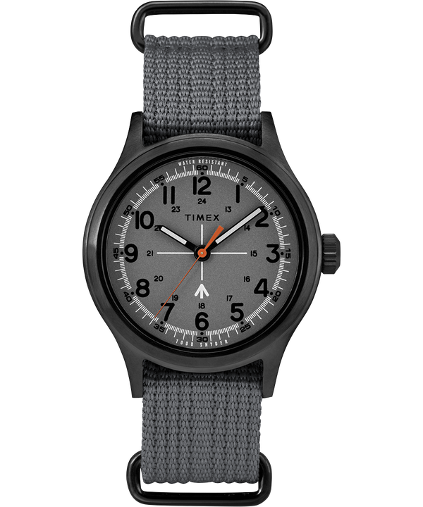 Timex x Todd Snyder Military Inspired 40mm Fabric Strap Watch  large