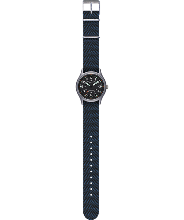 MK1 40mm Fabric Style Watch Blue large