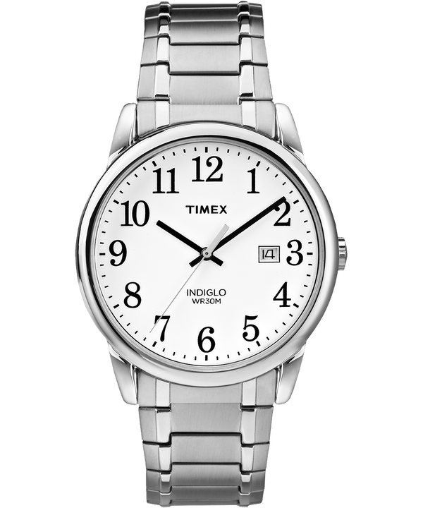 Easy Reader 38mm Stainless Steel Watch Expansion Band with Date  large