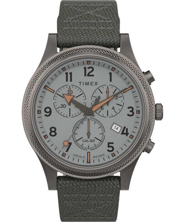 Allied LT Chronograph 42mm Fabric Strap Watch  large