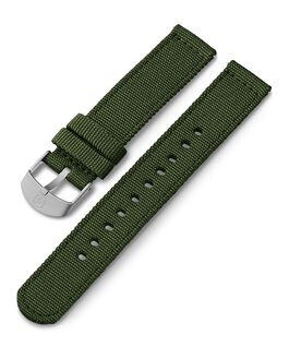 18mm Fabric Strap Green large