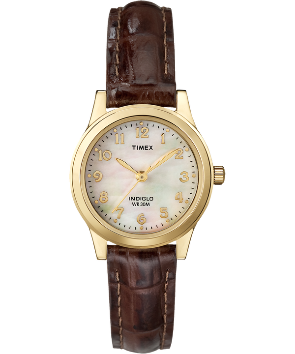 Easy Reader Date 25mm Leather Watch  large