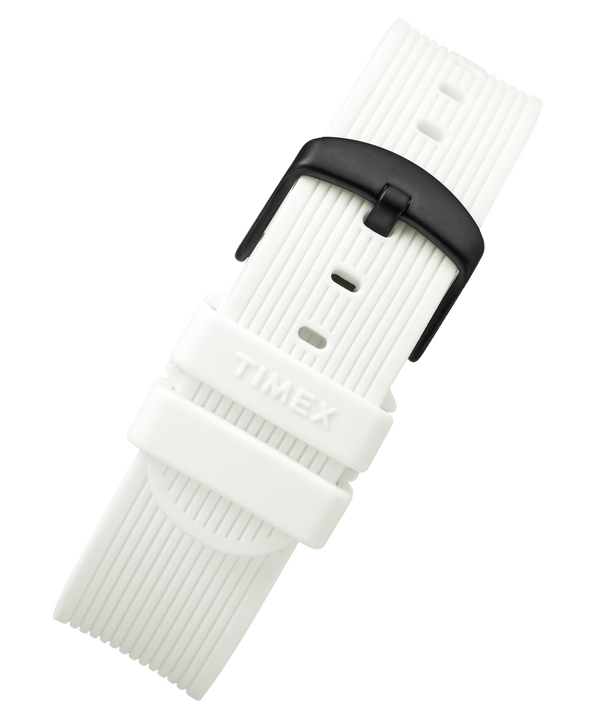 20mm Silicone Strap White large