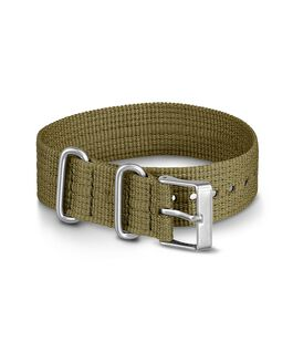 20mm Nylon Strap Green large