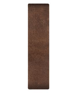 Brown / Bronze Edge Leather Slip-thru Strap  large