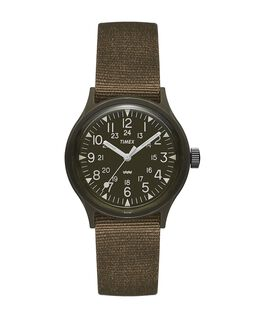 MK1 36mm Fabric Strap Watch  large