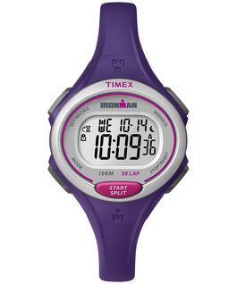 IRONMAN Essential 30 Mid-Size 35mm Resin Strap Watch Purple/Black large