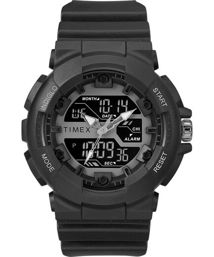 The HQ DGTL 50MM Resin Strap Combo Watch - Timex US