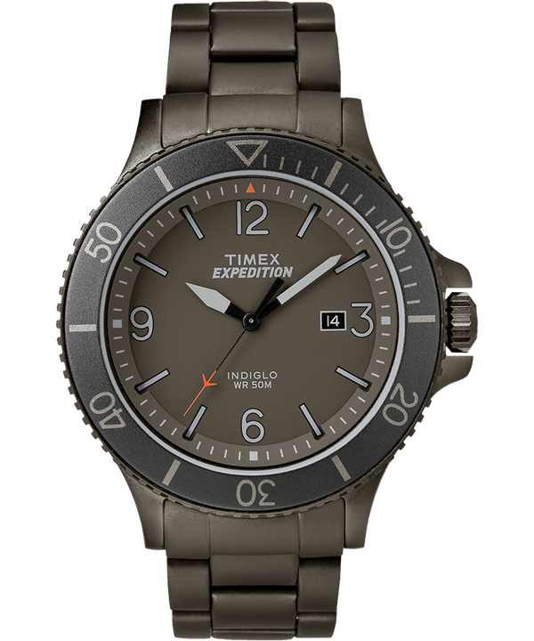 Expedition Ranger 43mm Stainless Steel Watch  large