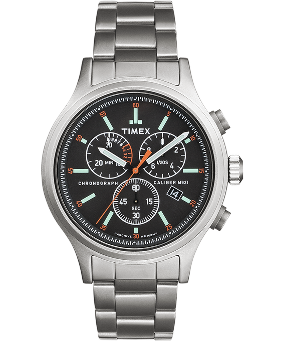 Allied Chronograph 42mm Stainless Steel Bracelet Watch  large