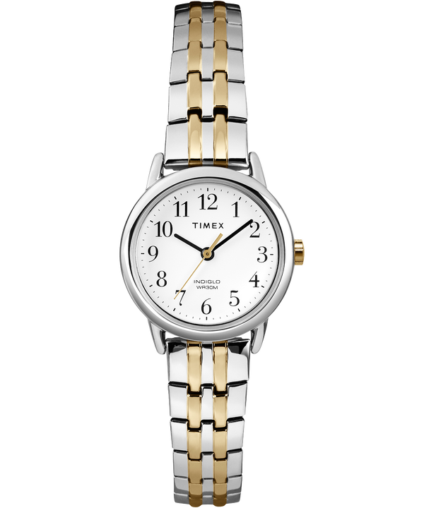 Easy Reader 25mm Bracelet Watch Silver-Tone/Two-Tone/White large