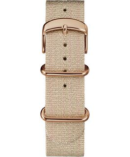 20mm Metallic Slip-Thru Fabric Strap Pink large