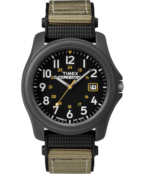 Expedition Camper 39mm Nylon Strap Watch Gray/Black large