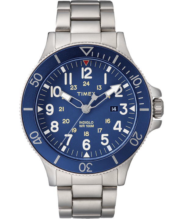 Allied Coastline 43mm Stainless Steel Watch  (large)