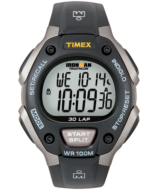 IRONMAN Classic 30 Full-Size 38mm Resin Strap Watch  (large)