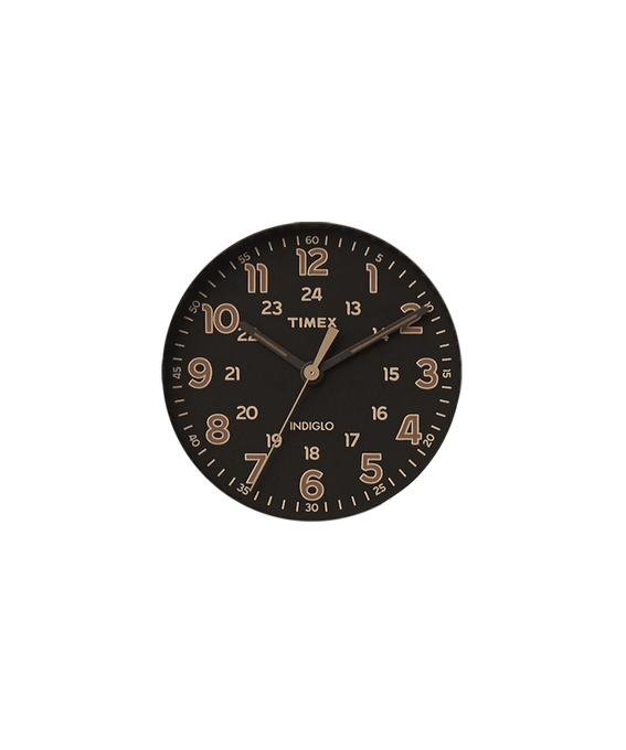 Black Dial / Tan Second-hand  (large)