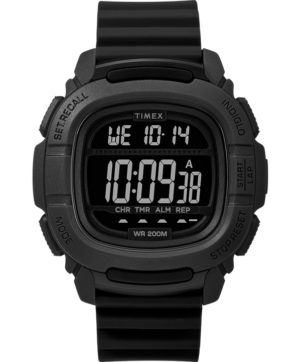 BST 47mm Silicone Strap Watch  large