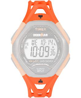 Replacement 17mm Resin Strap for Ironman Sleek 30 Full-Size Orange large