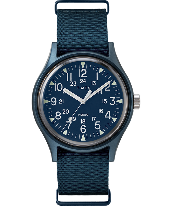 MK1 Aluminum 40mm Nylon Strap Watch