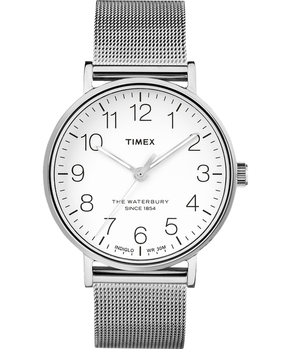 Waterbury 40mm Classic Stainless Steel Watch  large