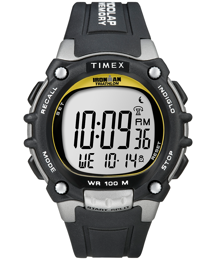 Ironman Classic 100 Full Size 44mm Resin Strap Watch Timex