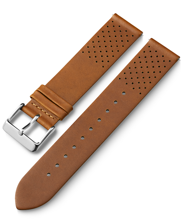 20mm Quick Release Silicone Strap Tan large