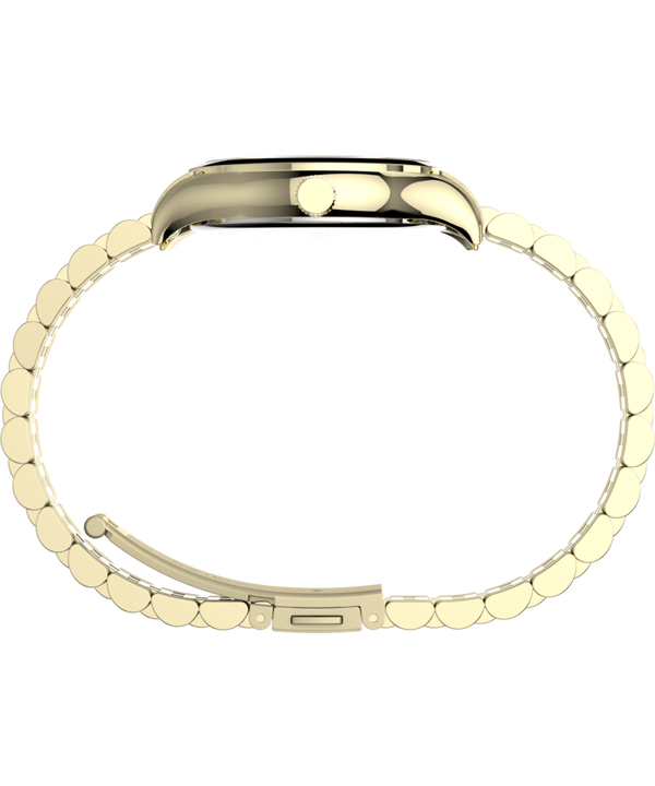 Waterbury Traditional 34mm Stainless Steel Bracelet Watch Gold-Tone/White large