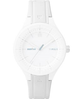 Replacement 18mm Silicone Strap for IRONMAN Essential White large