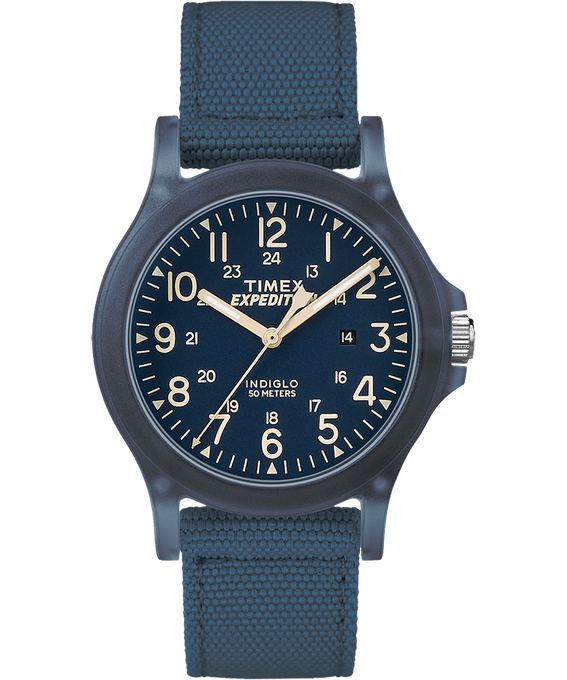 Expedition Acadia Midsize 36mm Fabric Strap Watch Blue large
