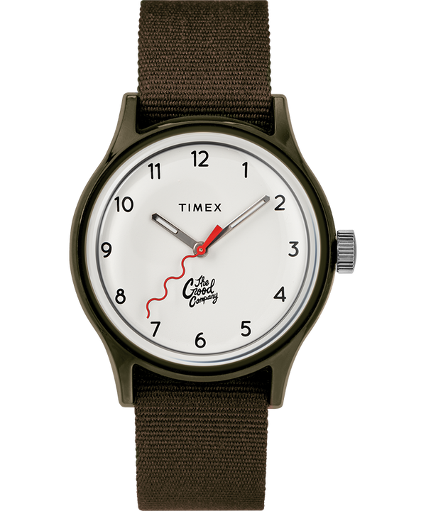 The Good Company for Timex MK1 36mm Fabric Strap Watch with Extra Strap  large