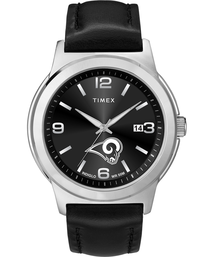 los angeles rams watch timex tribute nfl collection. Black Bedroom Furniture Sets. Home Design Ideas