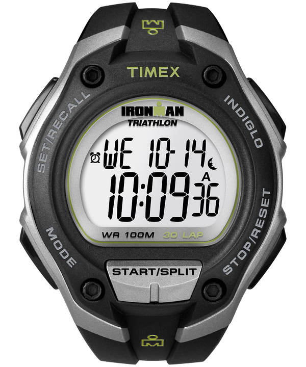 IRONMAN Classic 30 Oversized 43mm Resin Strap Watch  (large)