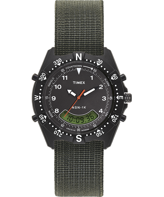 NSN-1K 39mm Elastic Strap Watch  large