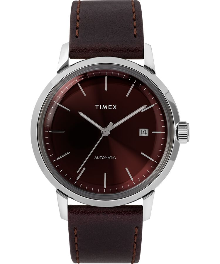 Timex's new Marlin Automatic Burgundy TW2T23200
