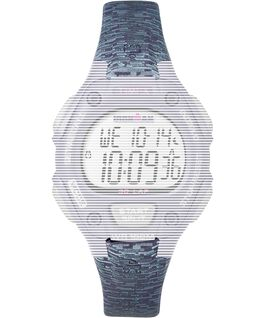 Replacement Resin 14mm Patterned Strap for Ironman Classic 30 Mid-Size Purple large
