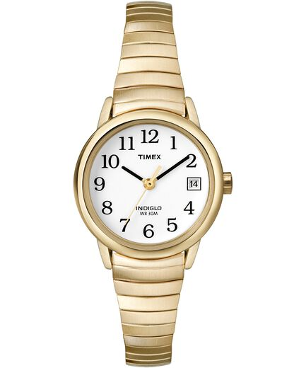 Easy Reader 25mm Bracelet Watch Gold-Tone White large 496bb2bb5e3