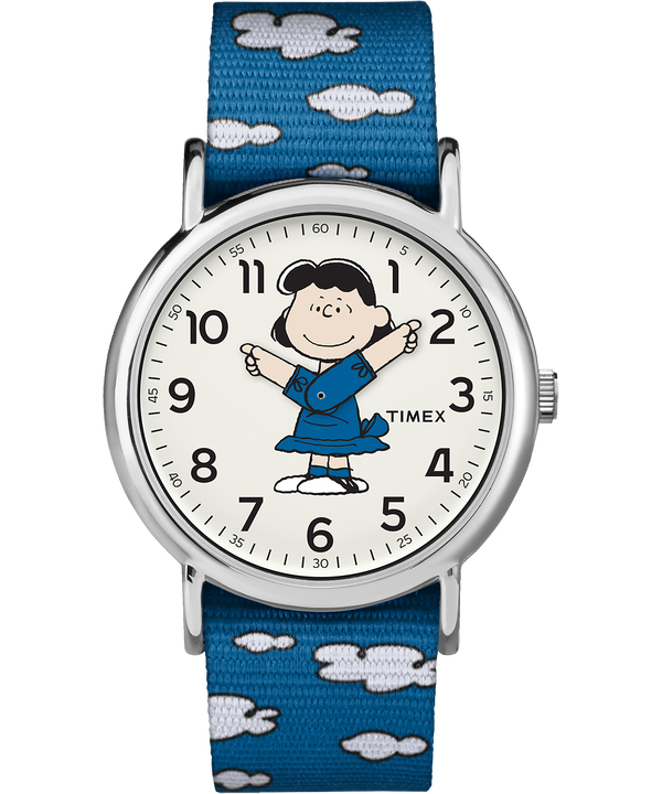 Lucy 38mm Nylon Strap Watch  large