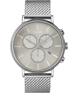 Fairfield Supernova 41mm Mesh Bracelet Watch Silver-Tone/Stainless-Steel large