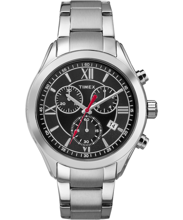 Miami Chronograph Mens 38mm Stainless Steel Watch