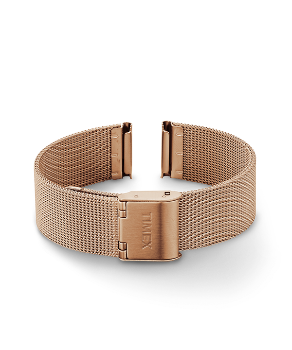 16mm Mesh Band Rose-Gold-Tone large