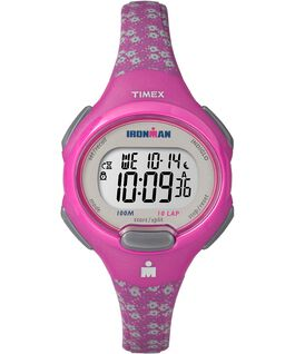 IRONMAN Essential 10 Mid-Size 35mm Resin Strap Watch Pink/Gray large