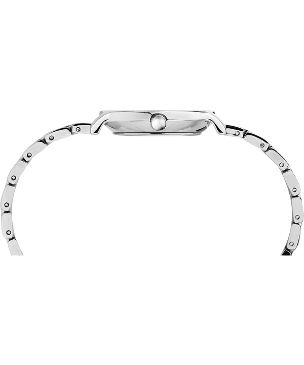 Milano Oval 24mm Stainless Steel Bracelet Watch Silver-Tone/Stainless-Steel large